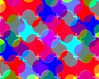 Conception colorée abstraite de fond Images stock