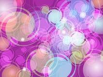 Conception colorée abstraite de fond de tache floue illustration de vecteur