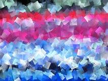 Conception colorée de cubisme illustration stock