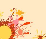Conception colorée de splat Photographie stock