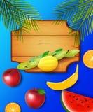 Conception colorée pour Sukkot illustration stock