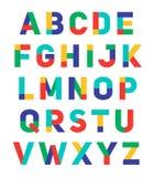 Conception composée par police d'alphabet Photographie stock libre de droits