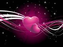 Conception créatrice de coeur abstrait illustration libre de droits
