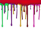 Conception débordante de couleurs Illustration Stock
