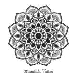Conception décorative d'ornement de mandala Illustration Stock