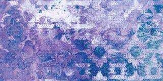 Conception décorative de couleur multi abstraite royale illustration libre de droits