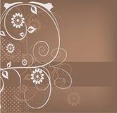 Conception décorative de fleurs illustration libre de droits