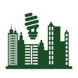 Conception d'écologie protection et concept vert Images stock