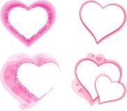 Conception d'élément de coeur Image libre de droits