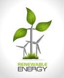 Conception d'énergie d'Eco illustration de vecteur