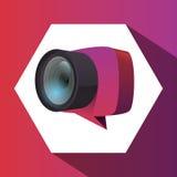 Conception d'équipement d'appareil-photo Photos libres de droits
