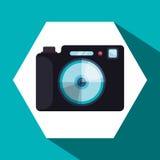 Conception d'équipement d'appareil-photo Images stock