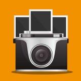 Conception d'équipement d'appareil-photo Photographie stock