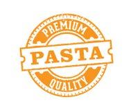 Conception d'étiquette de timbre d'insigne de label de vecteur pour le marketing de produit de pâtes vendant la boutique en ligne illustration libre de droits
