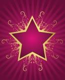 Conception d'étoile d'été illustration de vecteur