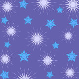 Conception d'étoiles Photos libres de droits