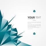 Conception d'affiche avec votre texte, fond abstrait minimal Photos stock
