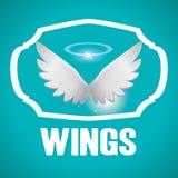 Conception d'ailes Photo libre de droits