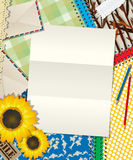 Abrégé sur lettre Images stock