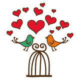 Conception d'amour Image libre de droits