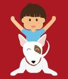 Conception d'amour d'animaux familiers Photographie stock libre de droits