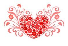 Conception d'amour de coeur Photo libre de droits