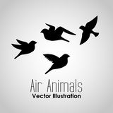 Conception d'animaux d'air Images stock