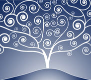 Conception d'arbre Images libres de droits
