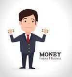 Conception d'argent illustration stock