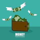 Conception d'argent illustration de vecteur
