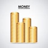 Conception d'argent Images stock