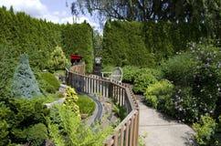 Conception d'arrière-cour de jardin Image libre de droits