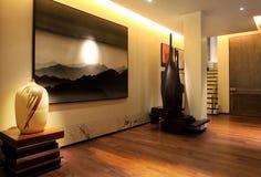Conception d'art d'environnement d'intérieur Image libre de droits
