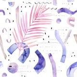 Conception d'art dans le pourpre, rétros couleurs de lavande Photographie stock libre de droits