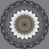 Conception d'art de Digital, architecture vue par le kaléidoscope illustration libre de droits