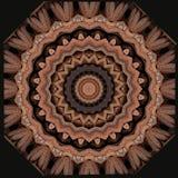 Conception d'art de Digital, modèle avec des bâtons de cannelle Photo libre de droits