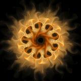 Conception d'art de Digital Texture colorée abstraite de fractale Configuration de fleur Photo libre de droits