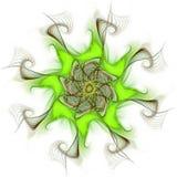 Conception d'art de Digital Texture colorée abstraite de fractale Configuration de fleur Illustration Libre de Droits
