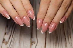 Conception d'art de vernis à ongles d'ongles manucurés mieux photo stock
