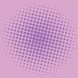 Conception d'Art Orchid Violet Purple Magenta Dots Comic Background Vector Template de bruit Photographie stock