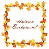 Conception d'automne illustration libre de droits