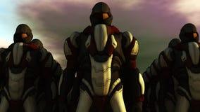 Chiffres de humanoïde Image libre de droits