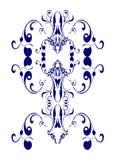 Conception d'Edwardian de cru illustration de vecteur