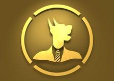 Conception d'emblème d'animal familier Images libres de droits