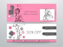 Conception d'en-tête ou de bannière de site Web de vente Image stock
