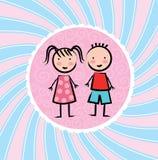Conception d'enfants Image stock