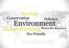 Conception d'environnement/eco Images libres de droits