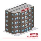 Conception d'hôtel Photos stock