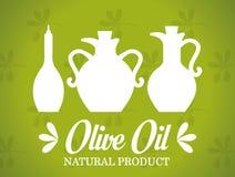 Conception d'huile d'olive Image libre de droits