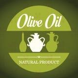 Conception d'huile d'olive Photos stock